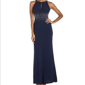 Navy Gown - JS GROUPE DRESS -NWT
